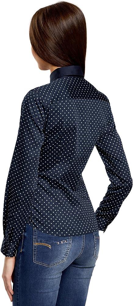MISS MOLY Camisas y Blusas para Mujeres Oficina se/ñoras Ladies V Cuello Casual Tops Casuales Mangas largas abotonadas Fruncen el Frente Formal Workwear