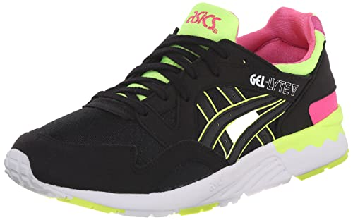 Zapatillas de running Gel Lyte V GS (Big Kid), negras / negras, 6.5 M US Big Kid: Amazon.es: Zapatos y complementos