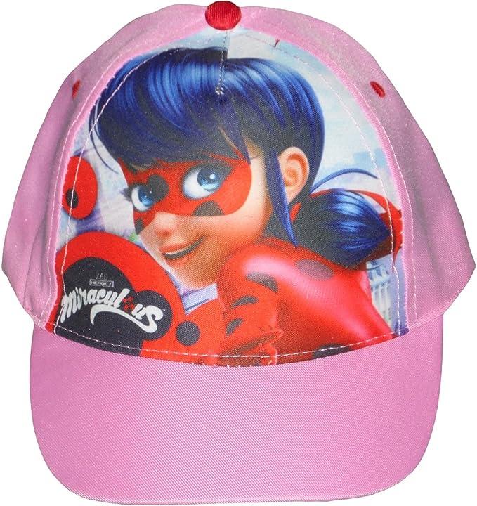 Miraculous Ladybug Gorra para niñas, 100% poliéster, Sombrero ...