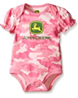 John Deere Baby Girls Trademark Bodyshirt Camo