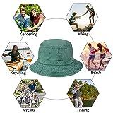 Solaris Washed Cotton Denim Bucket Hat Packable
