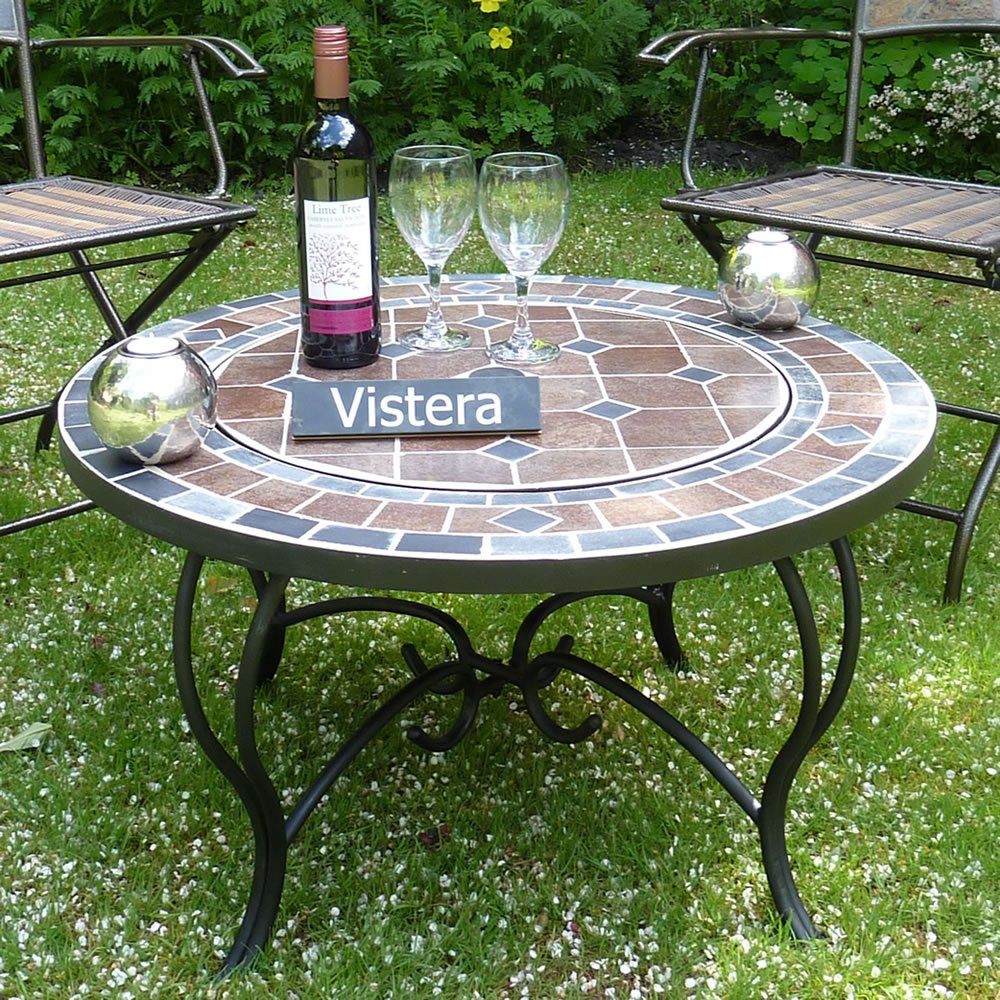 VISTERA FUNCHAL MOSAIC FIRE PIT TABLE VIS-FIRTABFUN