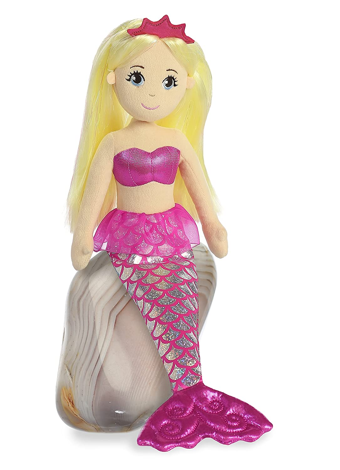 Aurora World Sea Sparkles Jewel Mermaid Plush