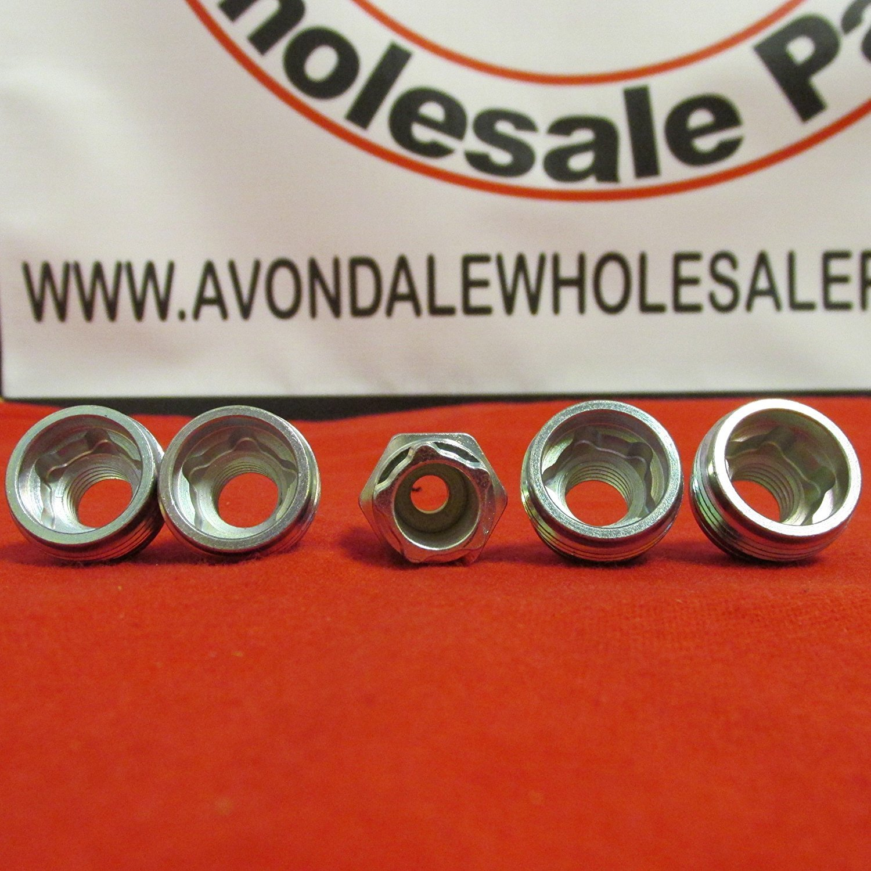 Genuine Jeep Accessories 82211462 One-Piece Wheel Lock Kit
