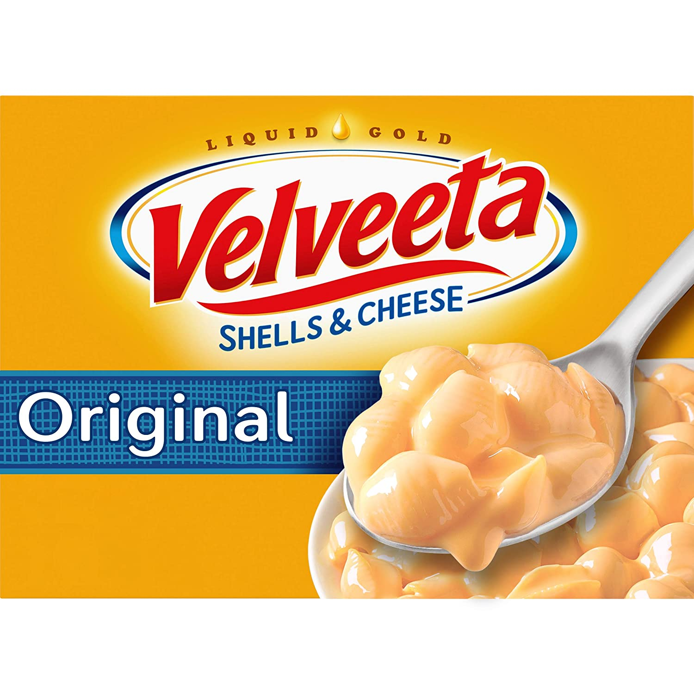 Velveeta Original Shells & Cheese Meal (12 oz Boxes, Pack of 24)