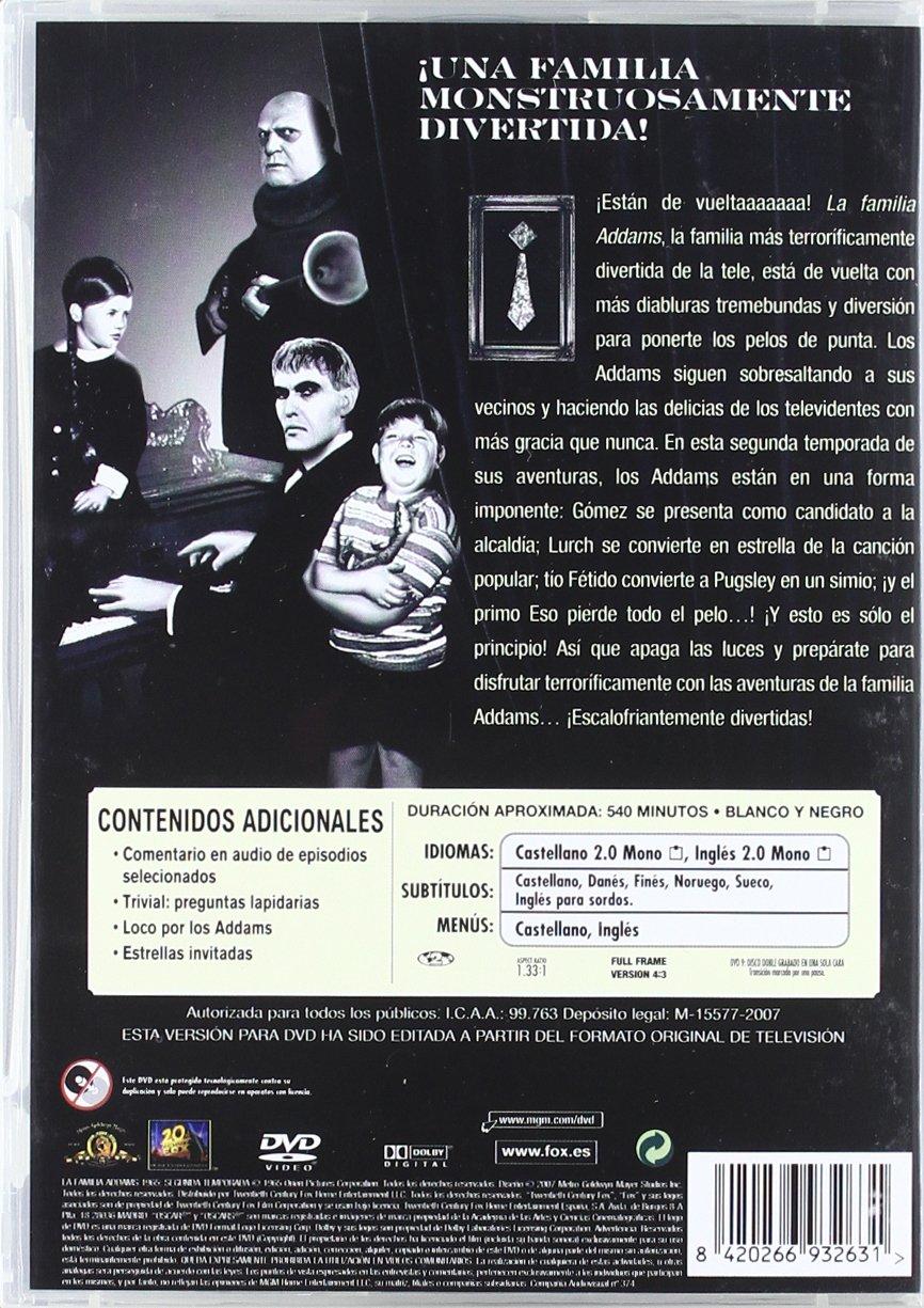 Familia Addams, La Temp. 1-3 B [DVD]: Amazon.es: Carolyn Jones, Ted ...