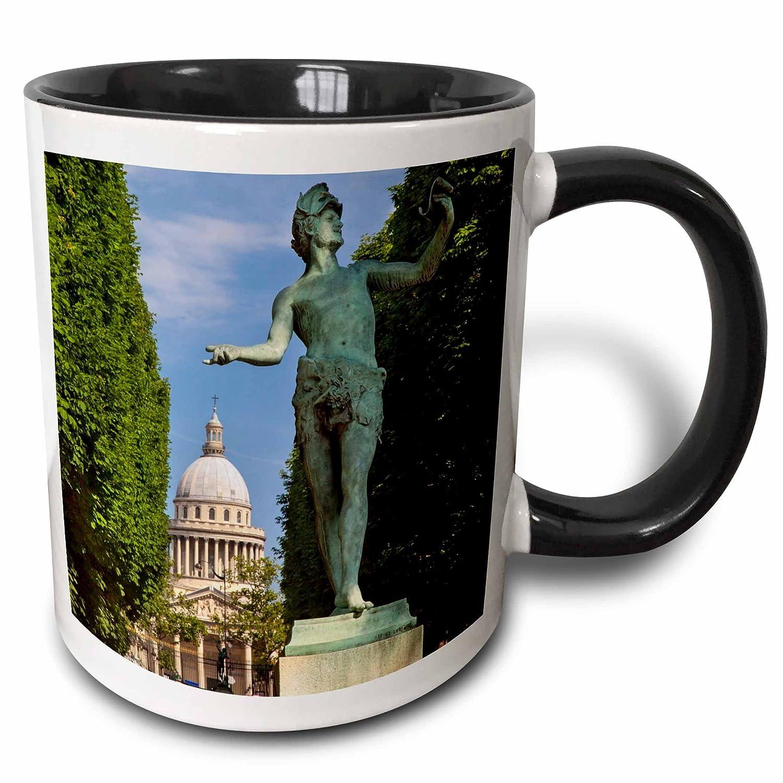 Amazon.com: 3dRose Danita Delimont - Paris - Bronze statue, Jardin du Luxembourg, Paris, France - EU09 BJN0267 - Brian Jannsen - 11oz Two-Tone Blue Mug ...