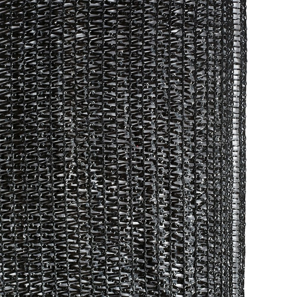 Agfabric 60% Sunblock Shade Cloth Cover with Clips for Plants 6.5' X 20', Black by Agfabric (Image #3)