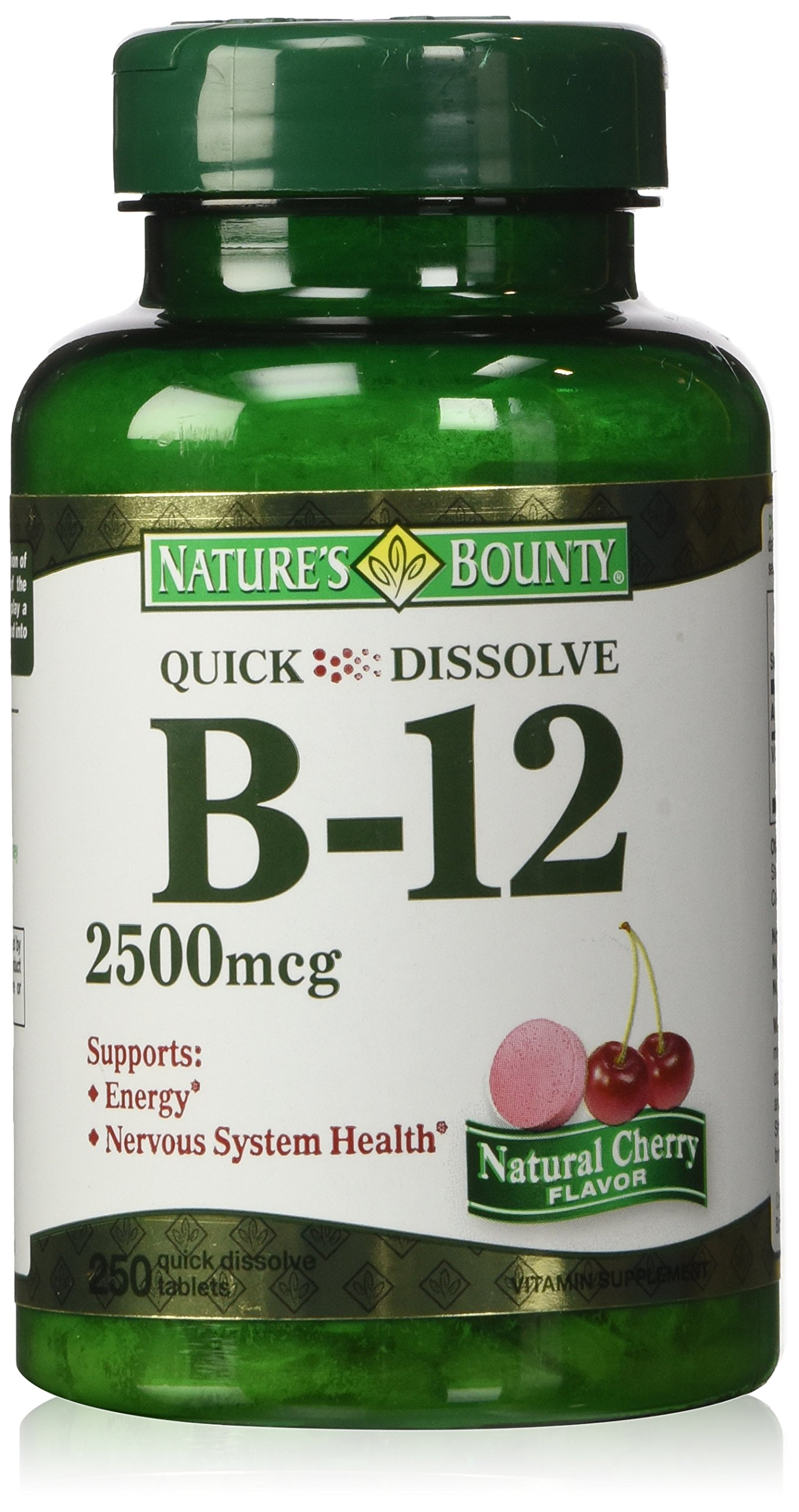 Nature S Bounty Vitamin B  Mcg Tablets  Count