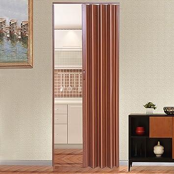 Tuff Concepts PVC Folding Doors Accordion Magnetic Catch White ...