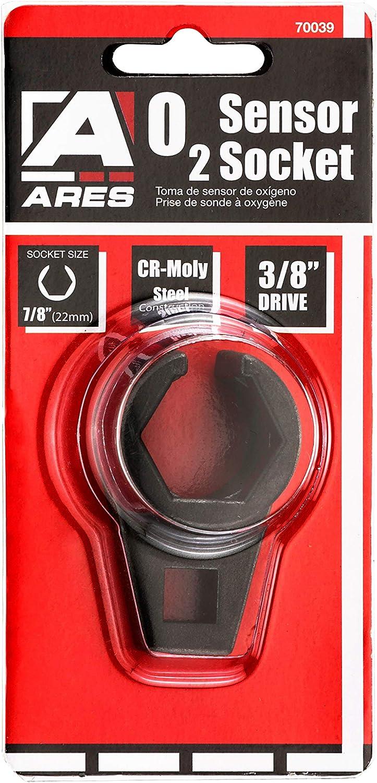 Muge Racing 3//8 in Drive by 7//8 in Offset Oxygen Sensor Socket 22mm