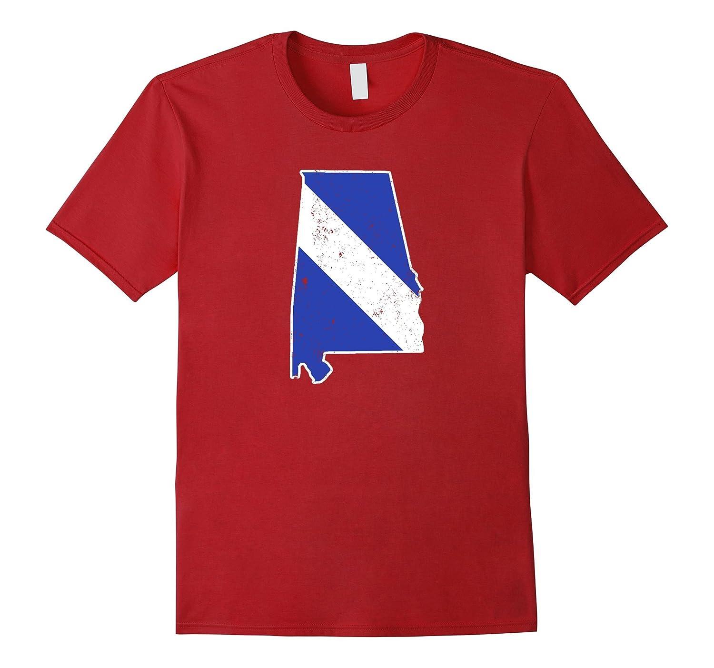 Alabama EMT Paramedic Thin White Line Flag Shirt-TD