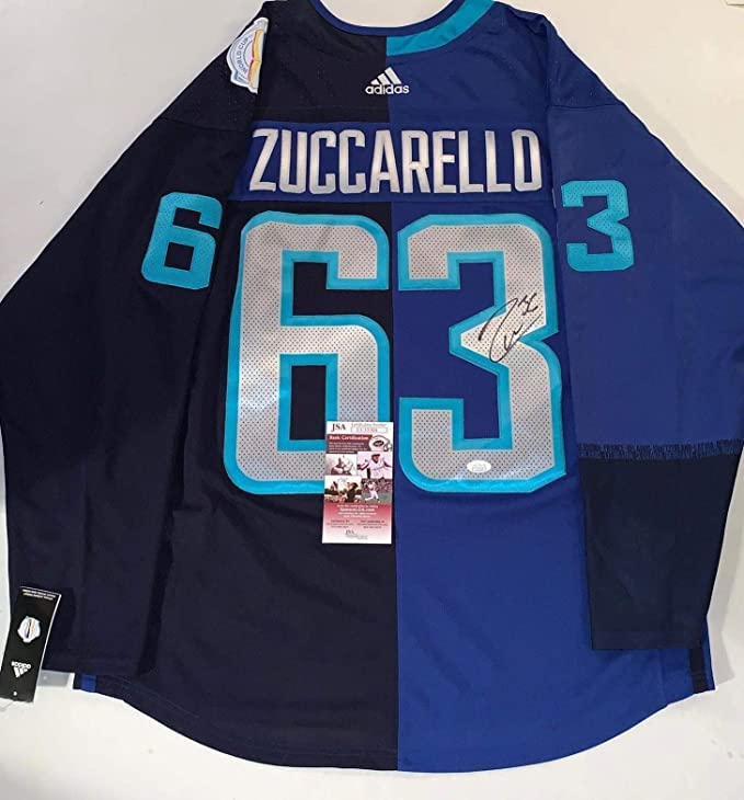 more photos 09bfb 5a371 Autographed Mats Zuccarello Jersey - Team Europe Adidas 2016 ...