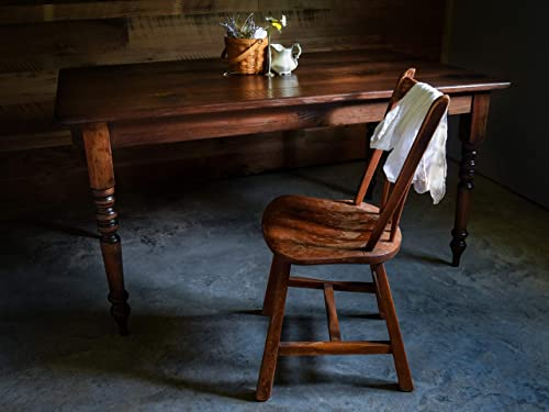 Handmade Rustic Wooden Farmhouse Table by Sugar Mtn Woodworks
