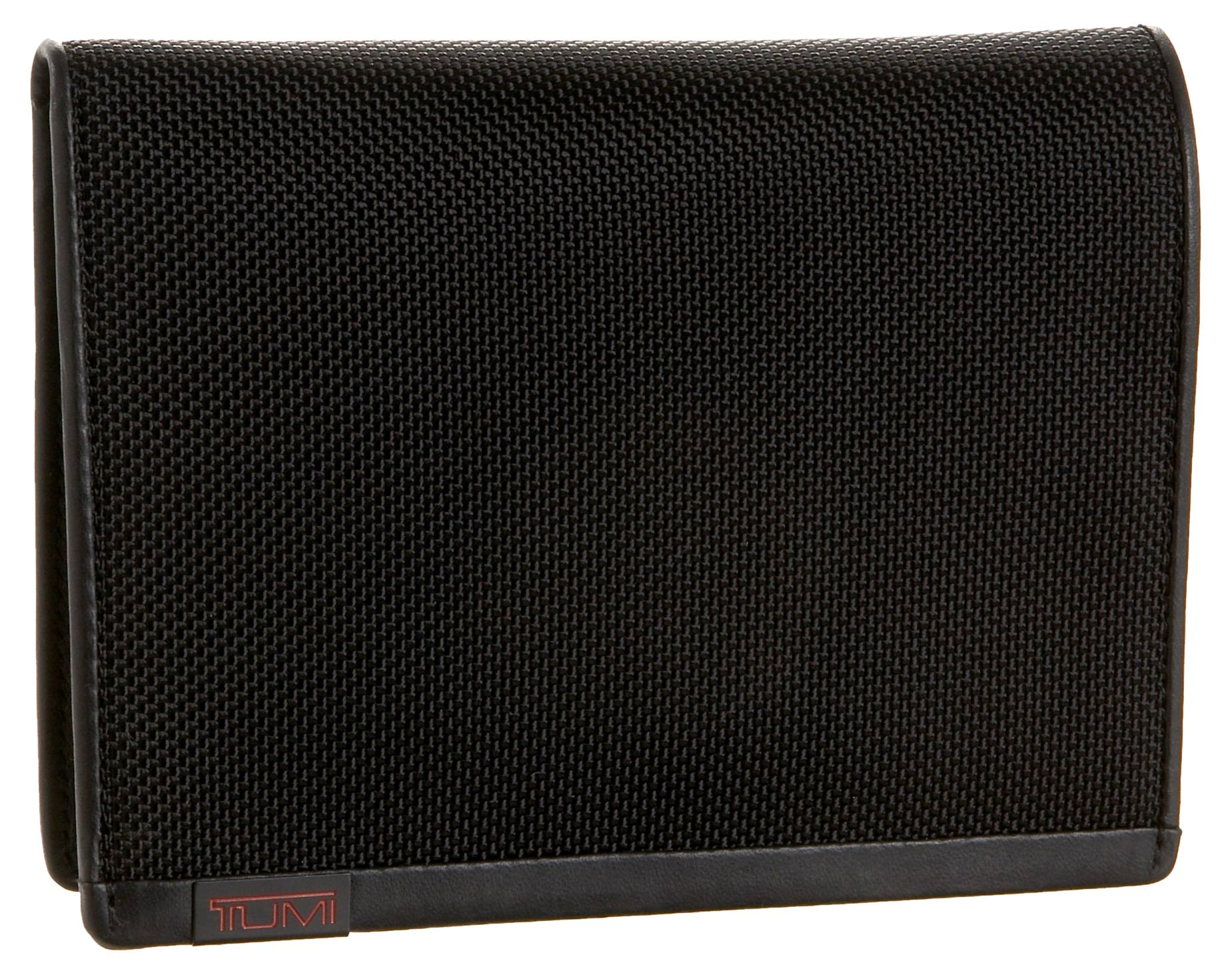 TUMI - Alpha Passport Case Wallet with RFID ID Lock for Men - Black by TUMI