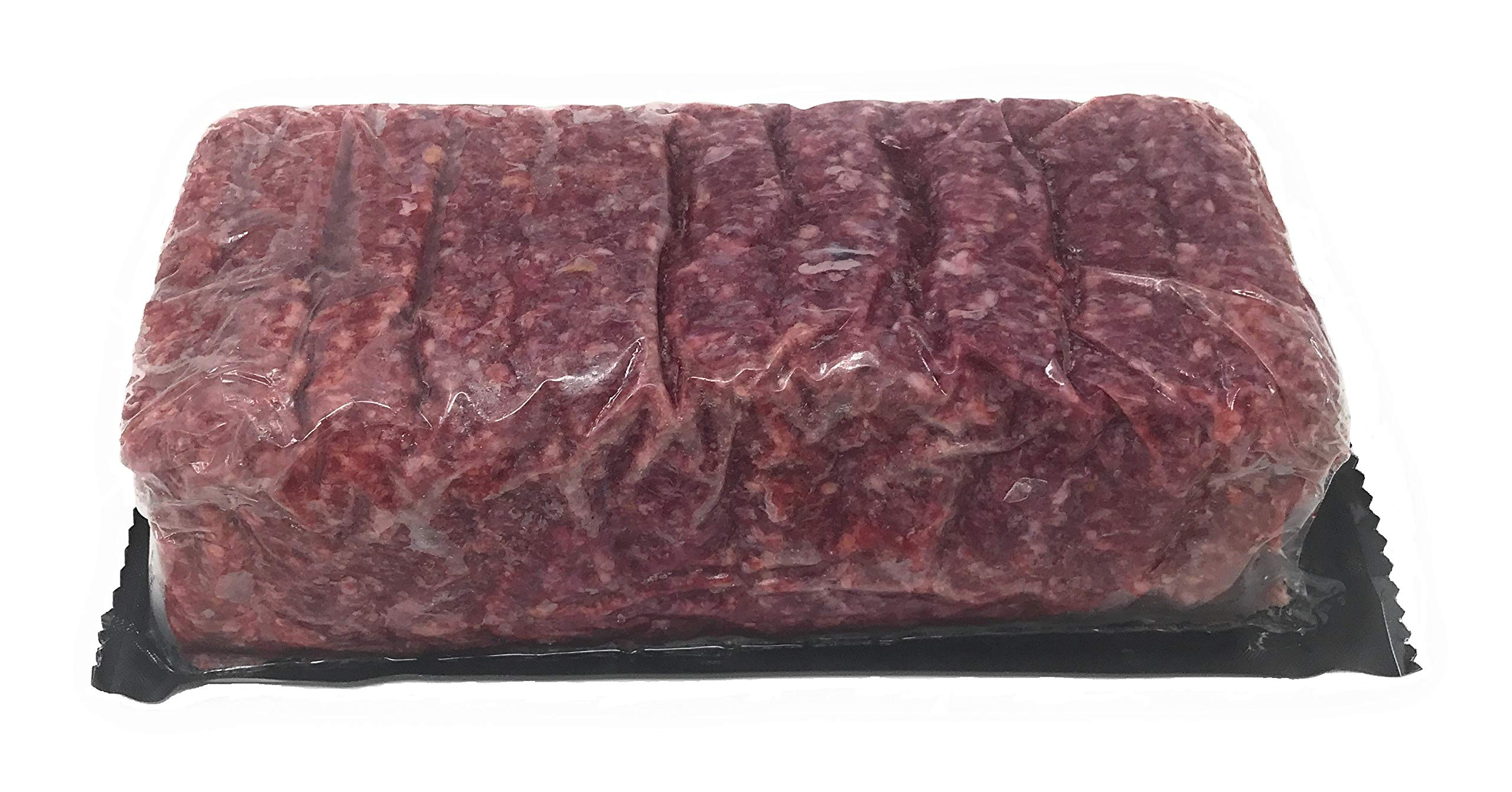Ground Bison - 100% 80% Lean: 100% All-Natural, Grass-Fed, Grain Finish North American Buffalo Meat with no Growth Hormones or Antibiotics - USDA Tested Count 2 - 5 Lbs. Chub
