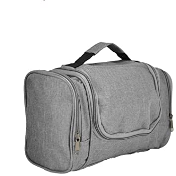 8918483bc9c3 DALIX Travel Toiletry Kit Accessories Bag in Gray