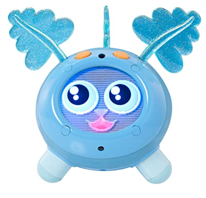 Amazon Mattel Fijit Friends Yippits Scooch Figure Blue Toys