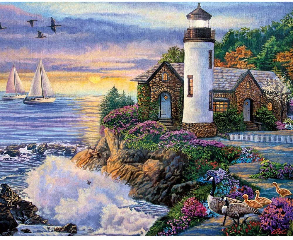 Bits and Pieces - Perfect Dawn 500 Piece Jigsaw Puzzles for Adults - Each Puzzle Measures 18