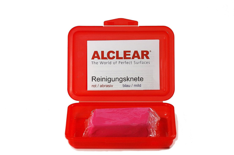 ALCLEAR 721r Argilla Auto di Pulizia Clay Bar Rosso 200 G