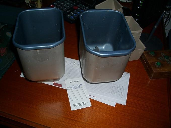 ... para panificadora/pan máquina, kleine Back cuenco para un gancho (gancho no incluidas) sustituye a los recipiente de la marca Bifinett para el modelo KH ...