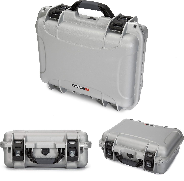 Nanuk 920 Tasche Leer Silber One Size Kamera