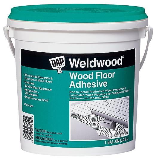 Dap 25133 Weldwood Wood Floor Adhesive, Gallon - Household Wood Stains -  Amazon.com - Dap 25133 Weldwood Wood Floor Adhesive, Gallon - Household Wood