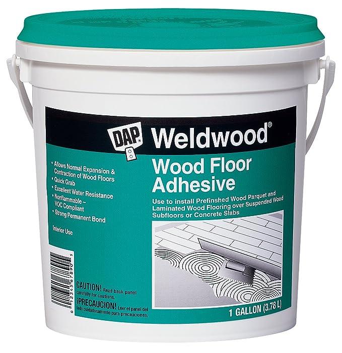 Dap 25133 Weldwood Wood Floor Adhesive Gallon Household Wood