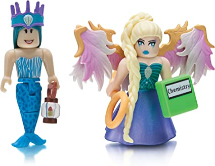 2 Roblox Hair Girl Amazon Com Roblox Celebrity Collection Neverland Lagoon Crown Collector Royale High School Enchantress Two Figure Bundle Includes 2 Exclusive Virtual Items Toys Games