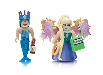 Roblox Celebrity Figure 2 Pack Neverland Lagoon Crown Collector Royale High School Enchantress - roblox high school girl codes dress