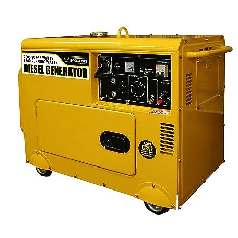 Amazon com : Pro-Series GENSD7, 5500 Running Watts/7000