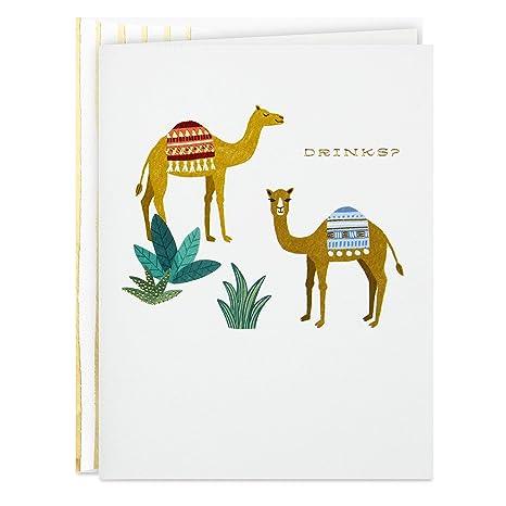 Amazon.com: Hallmark - Tarjeta de felicitación para fiesta ...