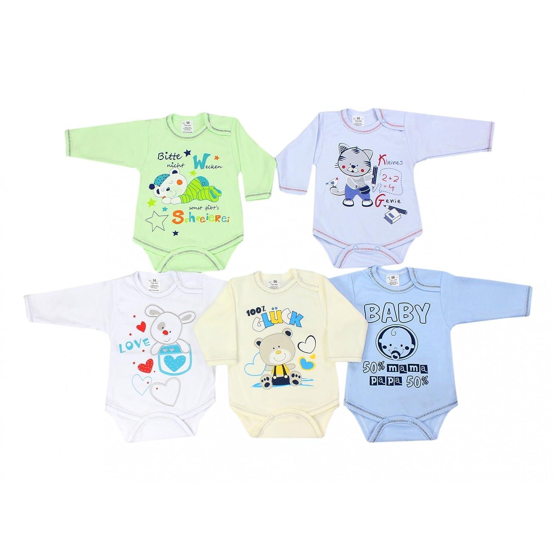 Amazing Tuptam Unisex Baby Body Langarm Mit Aufdruck Spruch Er Pack  Amazonde Bekleidung With Farbe Junge