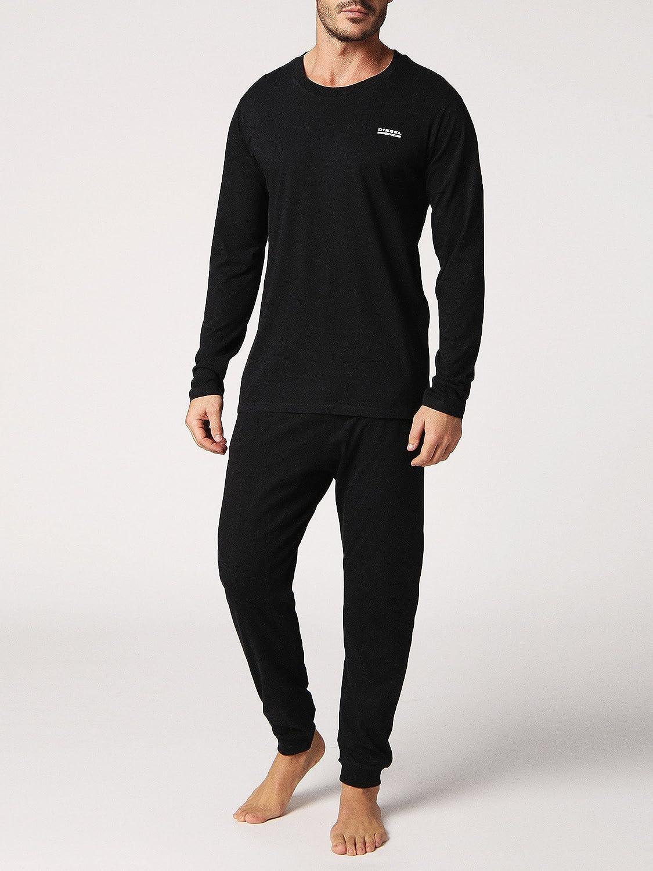 Pijama de hombre Diesel, Loungewear, Umset Justin Julio Pijama, Gift Box: Amazon.es: Ropa y accesorios