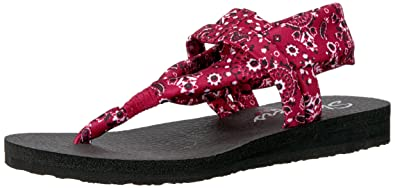 Skechers Cali Womens Meditation Slingback Yoga Flip-Flop ...
