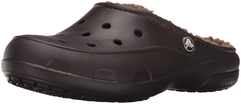 crocs Freesail PlushLined Clog, Damen Clogs, Braun (Espresso 206), 36/37 EU (4 Damen UK)