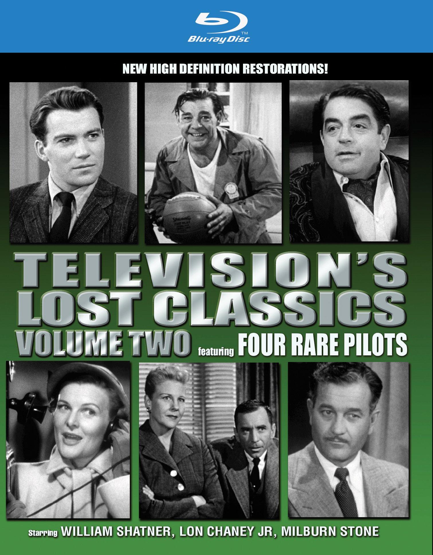 Blu-ray : Television's Lost Classics: Volume 2: Four Rare Pilots (Blu-ray)