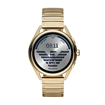 Smartwatch Emporio Armani Matteo Gen 5 Gold ART5027: Amazon.es ...