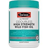 Swisse Ultiboost High Strength Odrls Wild Fish Oil 1500Mg 200 Capsules
