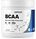 Nutricost BCAA Powder 2:1:1 - 500 Grams - High Quality Branched Chain Amino Acids