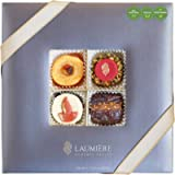Laumiere Gourmet Fruits - Diwali Collection - Rectangle - Dried Fruits and Nuts Box - Indian Mithai - Sweets…