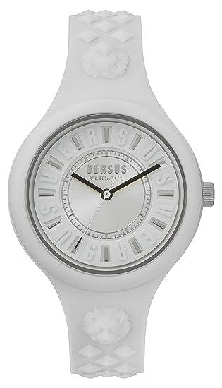 Versus by Versace Reloj Analogico para Mujer de Cuarzo con Correa en Silicona VSPOQ2118: Amazon.es: Relojes