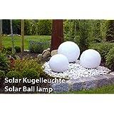LED Leuchtkugel Solar 20/25/30 cm von Kynast Garden 3er Set