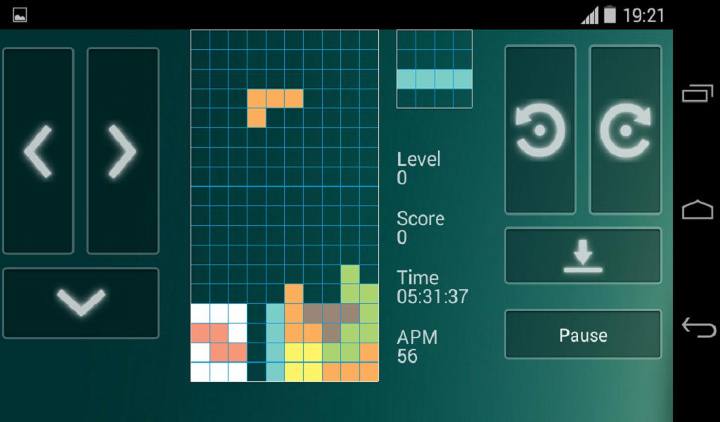 GAMELAR Brick Game (Tetris) ANDROID - YouTube