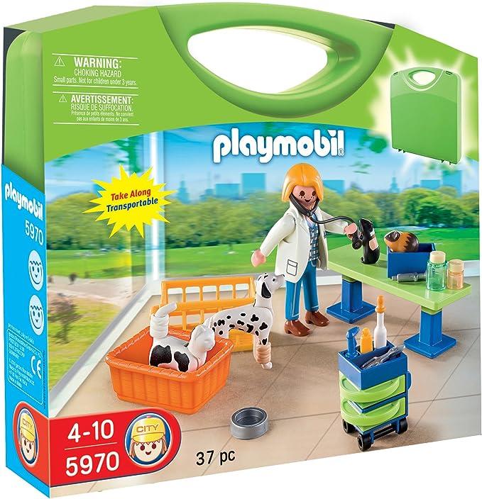 5653 Playmobil Valisette V/ét/érinaire Jeu
