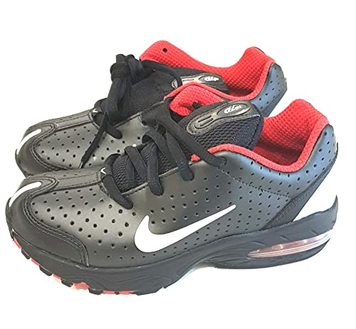 20b0f301dd Nike Air Max 2003 (PS) Trainers Shoes 306649 Black Silver Red Boy's Kids  Youth
