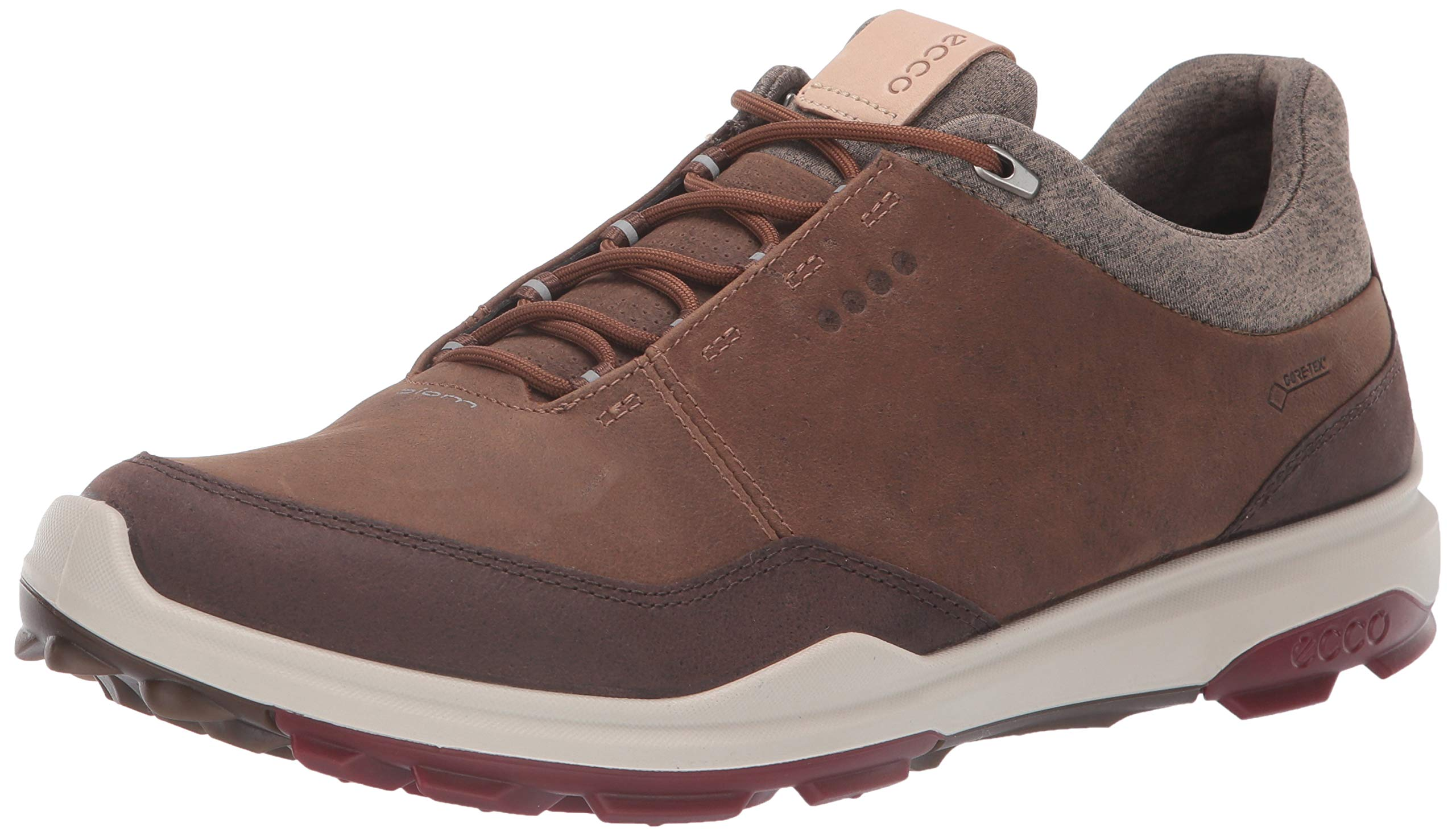 ECCO Men's Biom Hybrid 3 Gore-TEX Golf Shoe, Camel, 39 M EU (5-5.5 US)