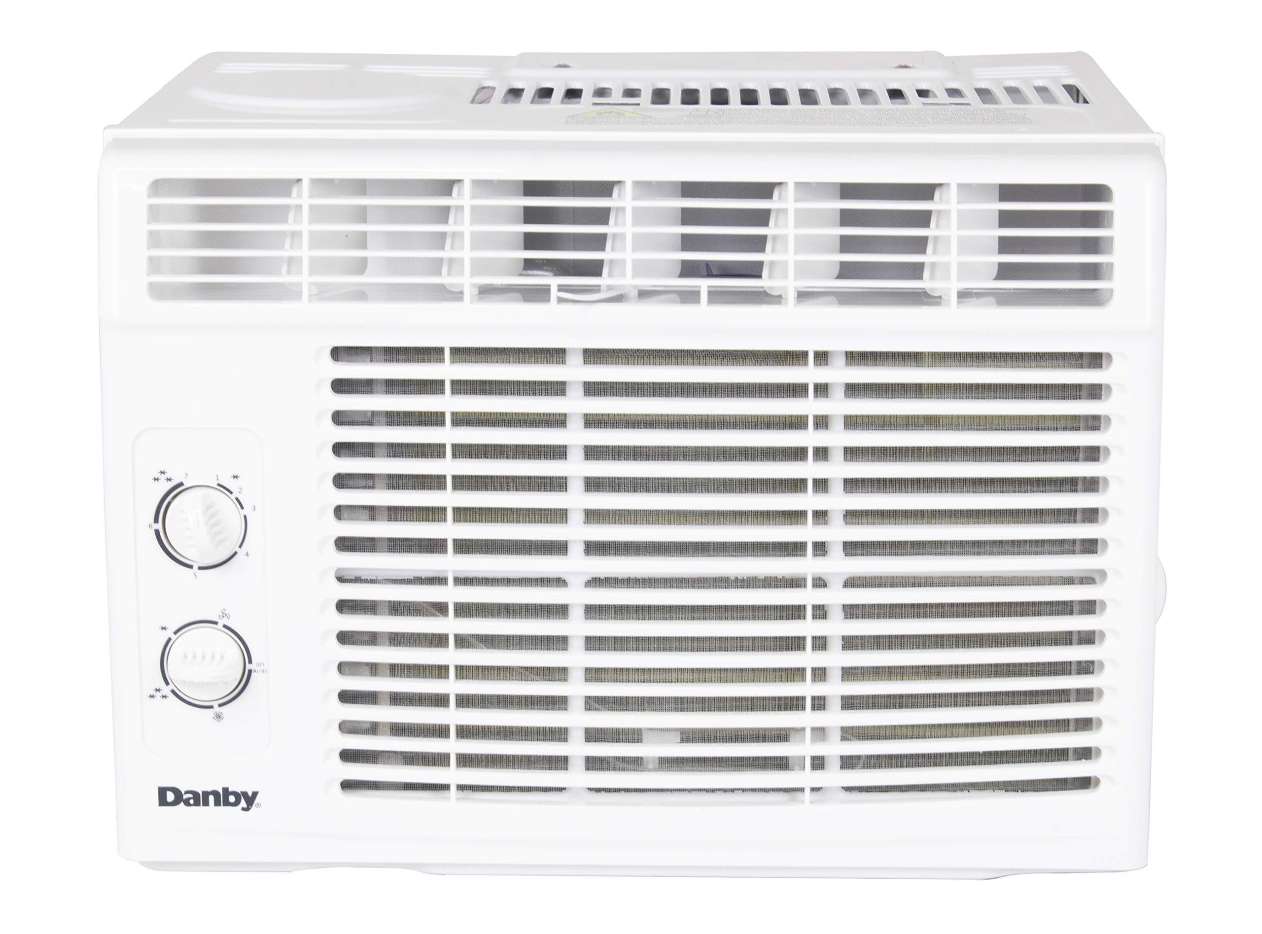 Danby 5,000 BTU Window Air Conditioner with two way air direction, White DAC050MB1WDB by Danby