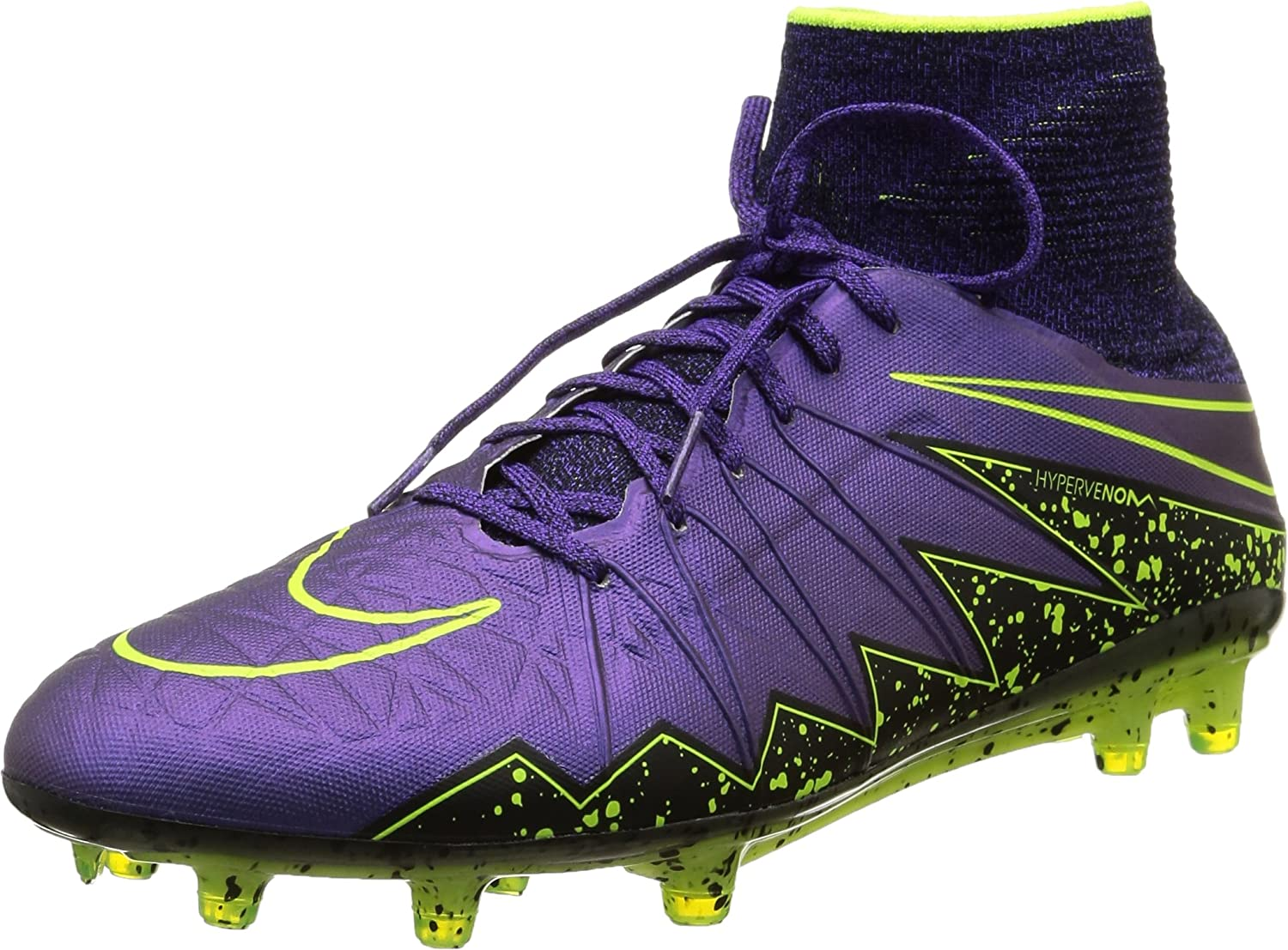 new concept c9b0d 2e27b NIKE Hypervenom Phantom II Firm Ground-Hyper Grape/Black/Hyper Grape