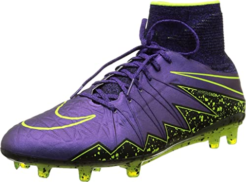 finest selection 4b1e2 3042a Nike Hypervenom Phantom II FG Mens Football Boots 747213 Soccer Cleats (US  9, Hyper